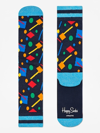 Ponožky Happy Socks Athletic Confetti (black/blue/multi)