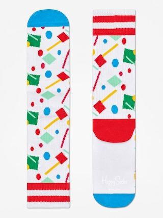 Ponožky Happy Socks Athletic Confetti (white/blue/multi)