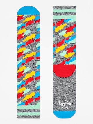Ponožky Happy Socks Athletic Cloud (heather grey/blue/multi)