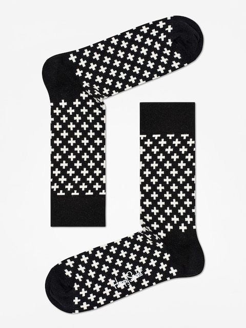 Ponožky Happy Socks Plus (black/white)
