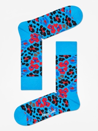 Ponou017eky Happy Socks Leopard (blue/red/black)