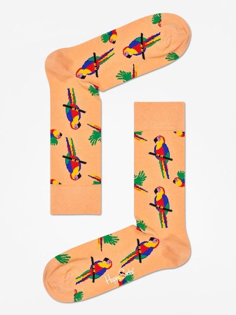 Ponožky Happy Socks Parrot (coral)