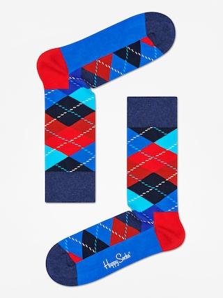 Ponožky Happy Socks Argyle (black/blue/red)