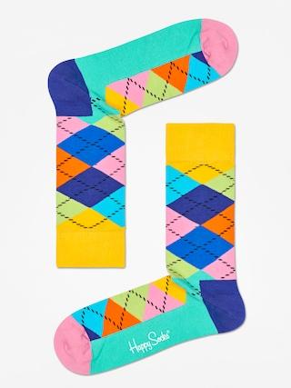 Ponou017eky Happy Socks Argyle (yellow/blue/green)