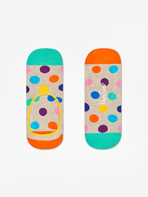 Socks Ponožky Happy Big Dot Liner Low (sand/multi)