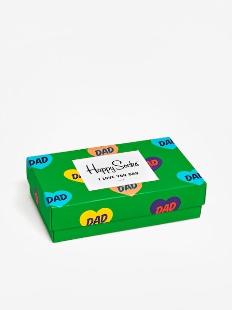 Ponožky Happy Socks Giftbox 3Pk Fathers Day (multi)