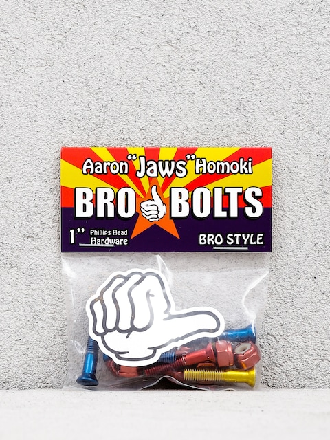 Skrutky Bro Style Aaron Jaws Homoki Phillips (red/blue/yellow)