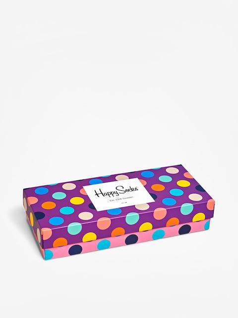 Ponožky Happy Socks Giftbox 4Pk Dot multi)