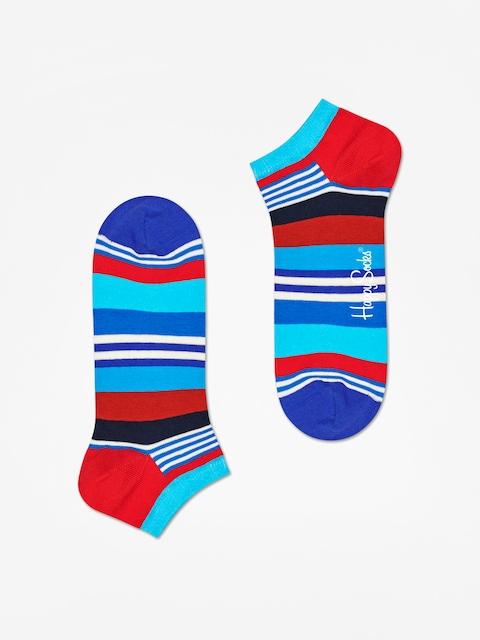Ponožky Happy Socks Multi Stripe Low (blue/black/red)