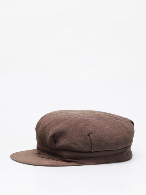 Klobúk so šiltom Brixton Bosmanka Murdoch (brown)