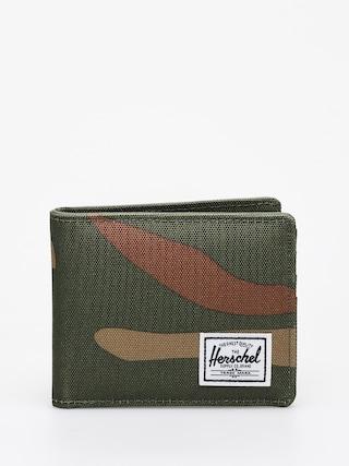 Peu0148au017eenka Herschel Supply Co. Roy Coin RFID (woodland camo/army)
