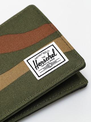 Peňaženka Herschel Supply Co. Roy Coin RFID (woodland camo/army)