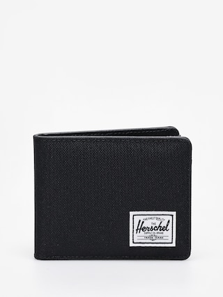 Peňaženka Herschel Supply Co. Hank Rfid (black/black synthetic leather)
