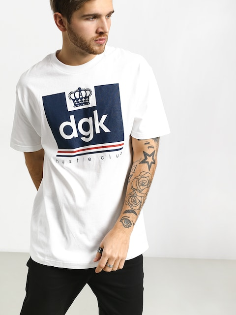 Tričko DGK Hustle Club (white)
