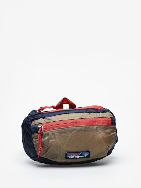 Ĺadvinka Patagonia Lw Travel Mini Hip Pack (classic navy w/mojave khaki)
