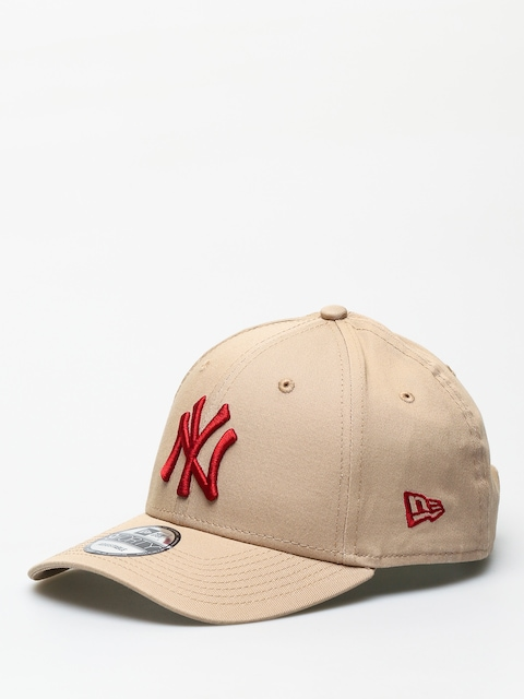 Šiltovka New Era 9Forty League Essential New York Yankees ZD (camel/hot red)