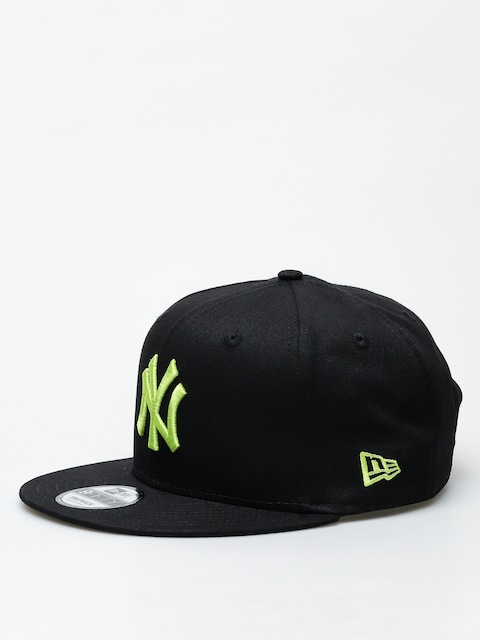 Šiltovka New Era 9Fifty League Essential New York Yankees ZD (black/cyber green)