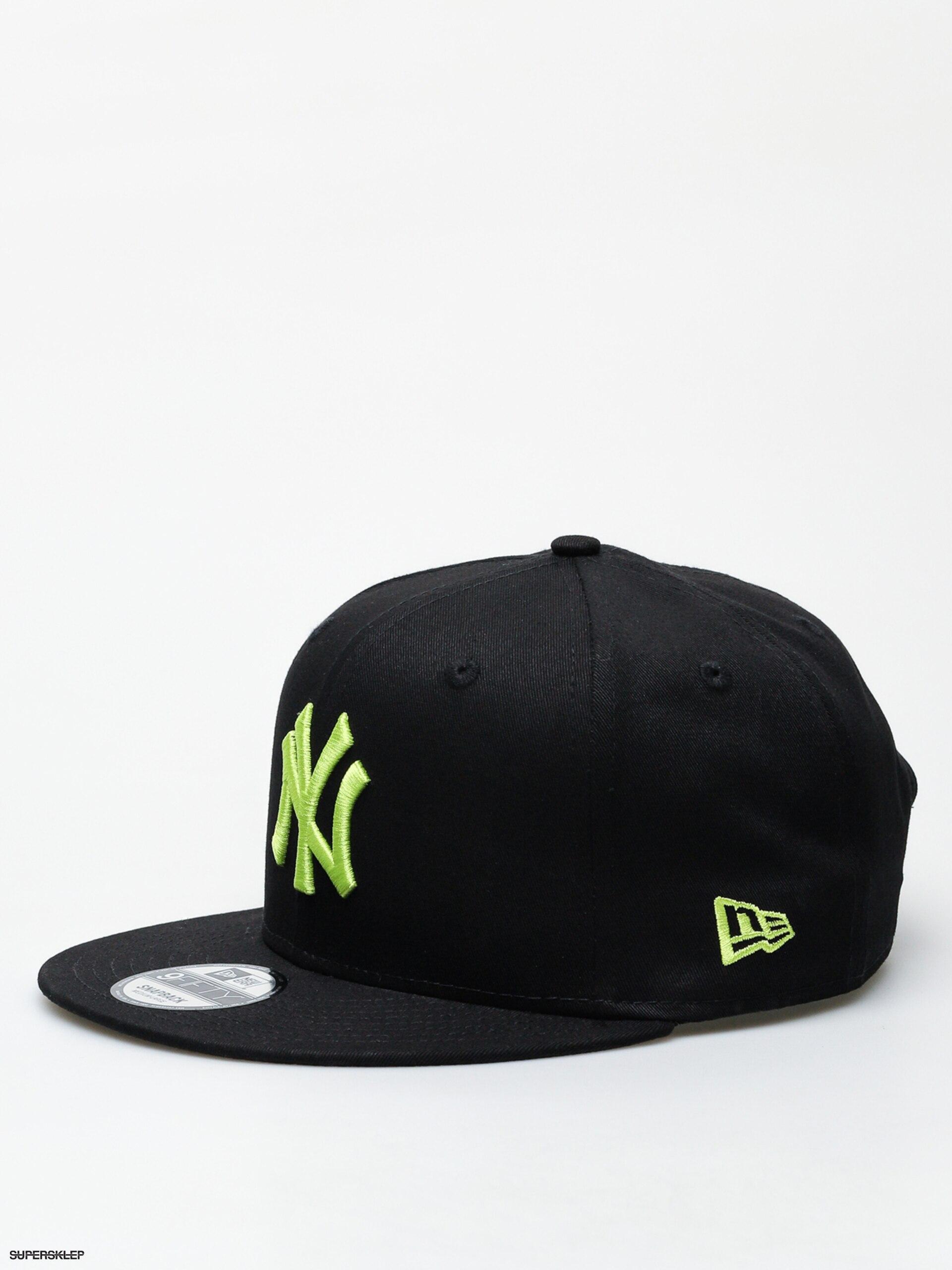 7d2adb4e9 Šiltovka New Era 9Fifty League Essential New York Yankees ZD (black/cyber  green)