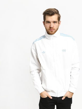 Mikina adidas Krooked (white/clear blue)