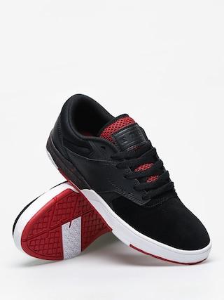 Topánky DC Tiago S (black/atl red/black)
