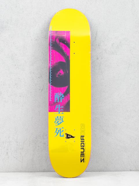 Doska Primitive Rodriguez Stare (yellow)