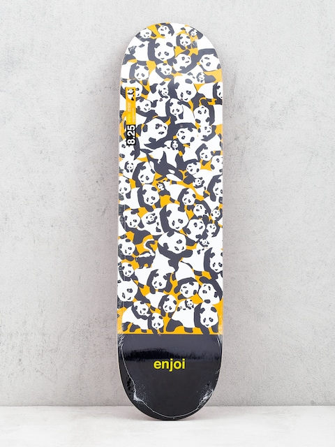 Doska Enjoi Panda Pile Up (orange)