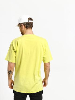 Tričko Vans Classic (sunny lime/white)