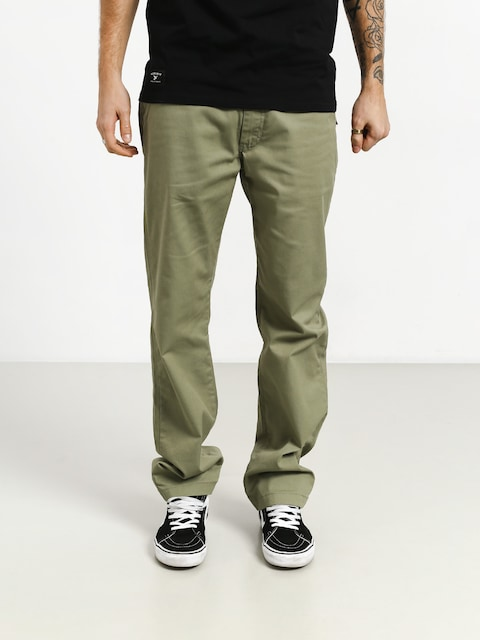 Nohavice Vans Authentic Chino Pro (oil green)