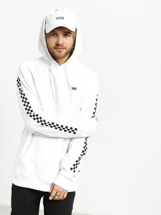 Mikina s kapucňou Vans Versa HD (white/checkerboard)