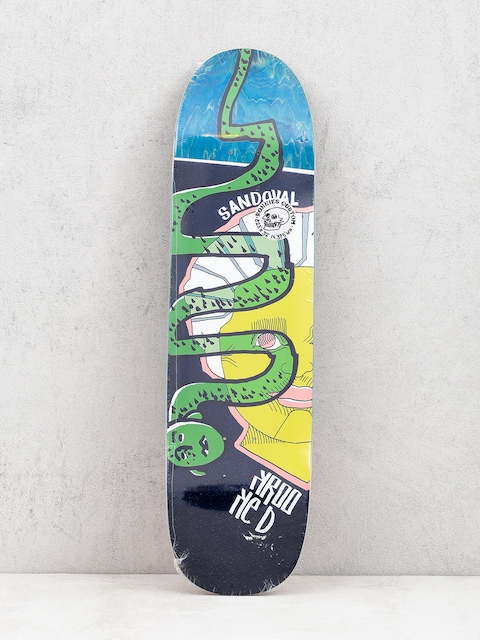Doska Krooked Ronnie Snakehead (green)
