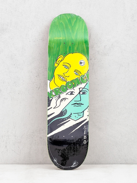 Doska Krooked Sebo Face Off (green)