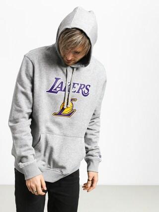 Mikina s kapucňou New Era Top 6 Los Angeles Lakers HD (heather gray)