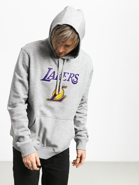 Mikina s kapucňou New Era Top 6 Los Angeles Lakers HD (heather gray)
