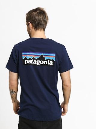 Tričko Patagonia Logo Organic (classic navy)