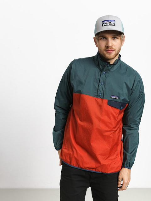 Bunda Patagonia Houdini Snap T (sunset orange)