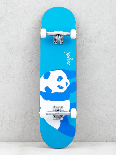 Skateboard Enjoi Blue Panda Resin (neon blue)