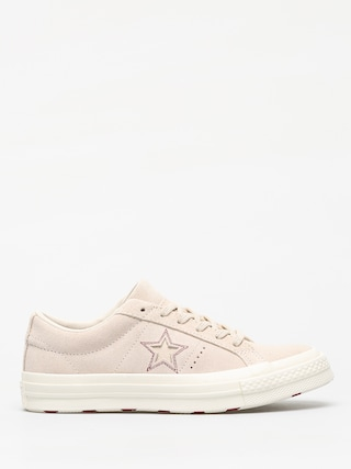 Tenisky Converse One Star Ox (egret/egret/rhubarb)