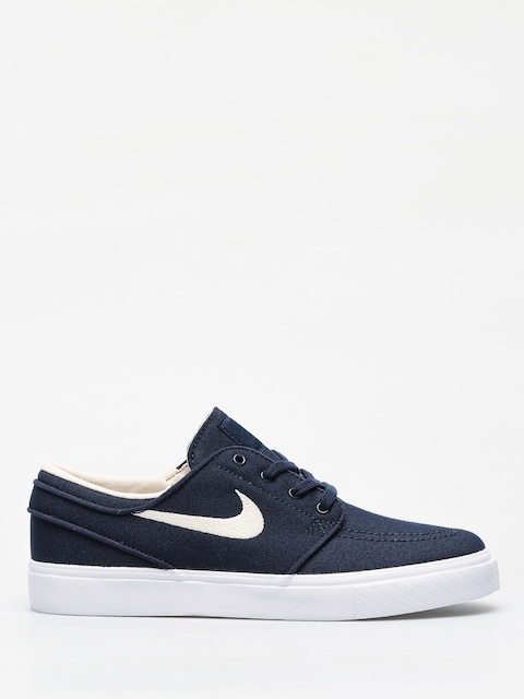 Topánky Nike SB Stefan Janoski Canvas (obsidian/light cream white light cream)