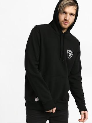 Mikina s kapucňou New Era Team Logo Oakland Riders HD (black)