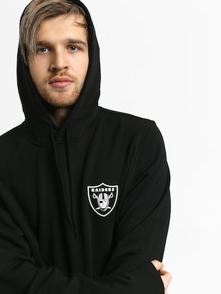 Mikina s kapucňou New Era Team Logo Oakland Riders HD (black)