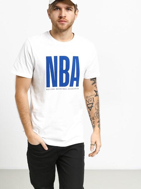 Tričko New Era Nba Logo (white)