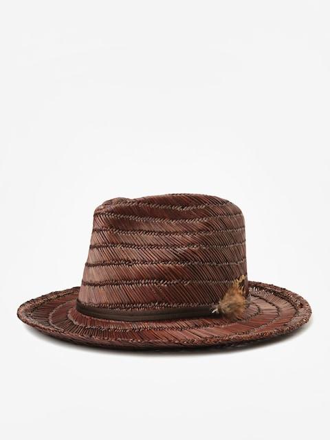 Klobúk Brixton Crosby II Fedora (brown/brown)