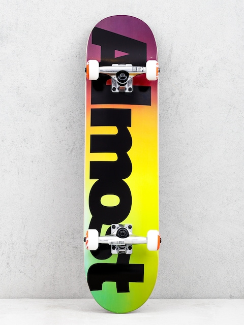 Skateboard Almost Black Fade (multi)