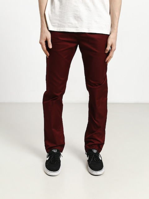 Nohavice DC Worker Straight (cabernet)