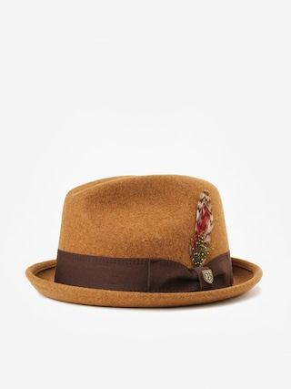 Klobu00fak Brixton Gain Fedora (heather coffee)