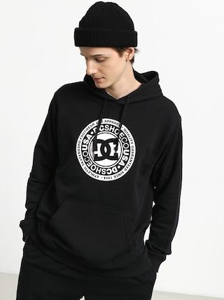Mikina s kapucňou DC Crasingle HD (black)