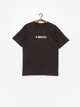 Tričko Brixton Stowell Iv Stt (washed black)
