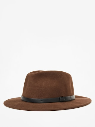 Klobúk Brixton Messer Fedora (brown/black)