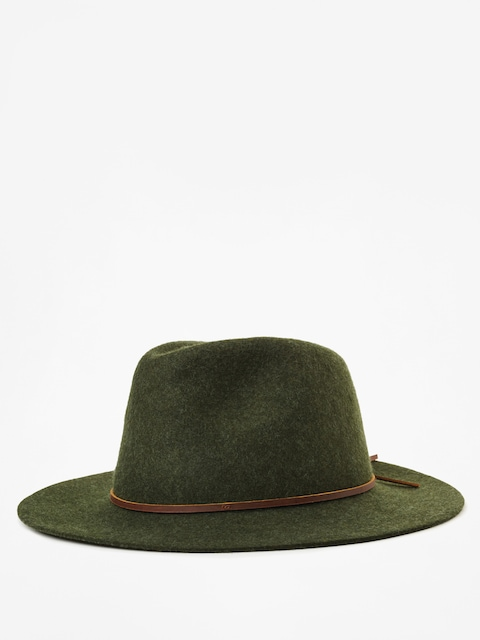 Klobúk Brixton Wesley Fedora (heather green)