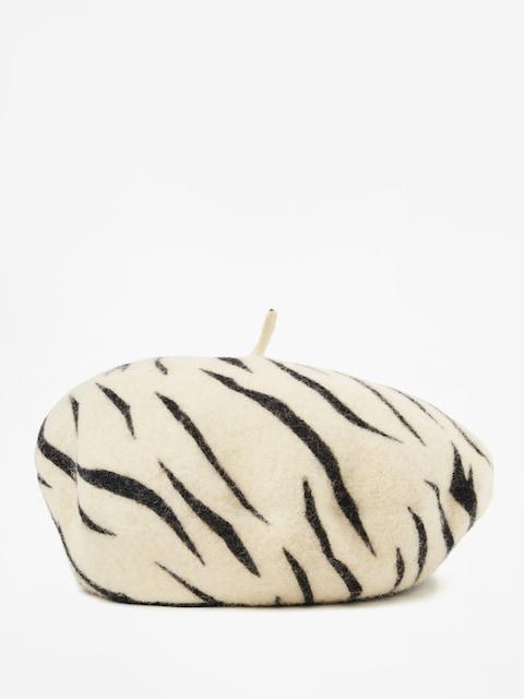 Klobúk so šiltom Brixton Beret Audrey Beret Wmn (white tiger)